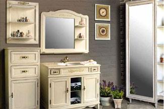 Мебель для ванной Ольвия: о производителе, материалы, ассортимент, преимущества, особенности