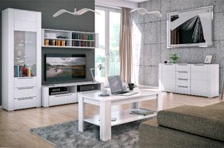 Обустройство гостиной в белом цвете – единство стиля и уюта