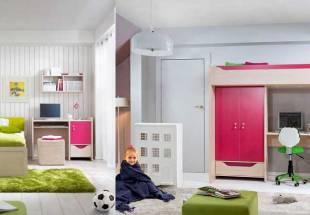 Яркая мебель для детской комнаты HiHOT BRW (Хихот БРВ)