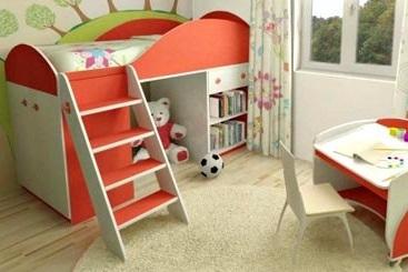 Модульная система для детской комнаты Маугли