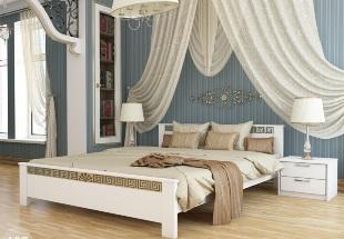 Белые деревянные кровати Эстелла стали дешевле!