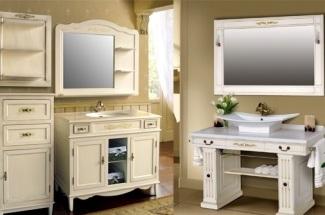 Новинки. Мебель для ванной комнаты Прага и Марсель от творческой группы Атолл