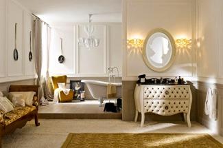 Кожаная мебель для ванной комнаты Ypsilon