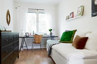 Как разместить мебель в узкой комнате?