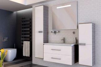 Навесная мебель для ванной комнаты