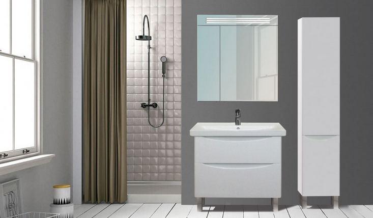 Комплект мебели для ванной Лагуна Мойдодыр