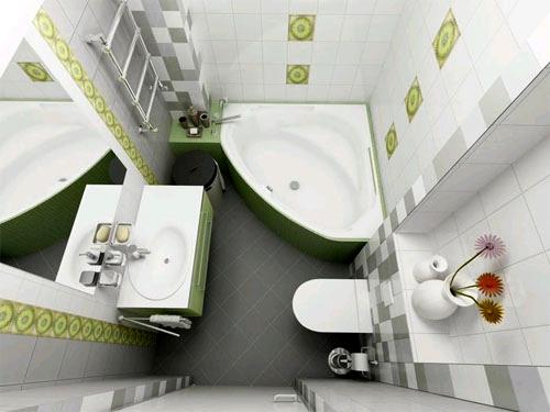 Маленькая ванная комната советы