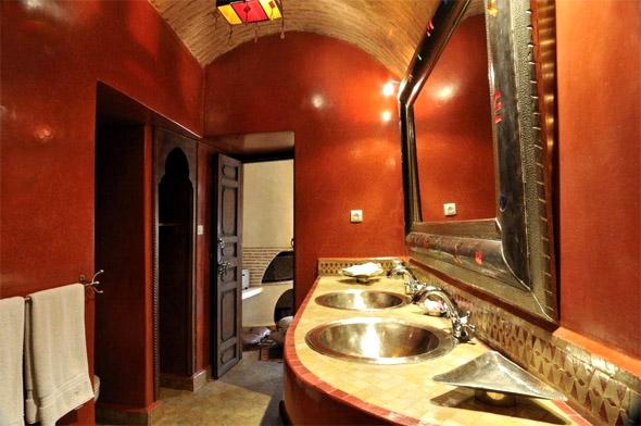 Ванная комната в стиле марракеш.