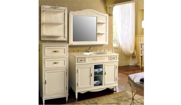 Provence мебель для ванной тускло в ванной комнате