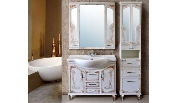 Комплект мебели для ванной Барселона rame Ольвия