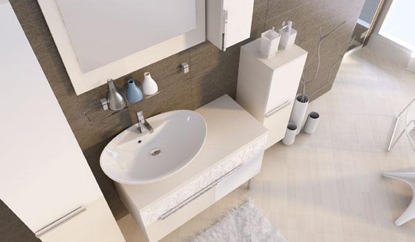 Комплект мебели для ванной Matrix Ювента