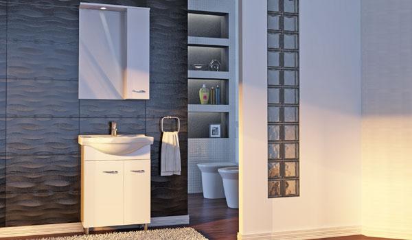 Комплект мебели для ванной Рио Ювента
