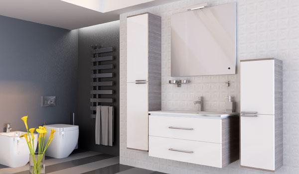 Комплект мебели для ванной Zlata Ювента