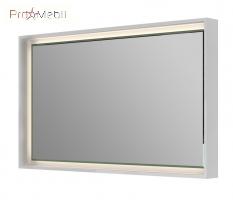 Зеркало в ванную комнату TrM-100 белое Torino Botticelli