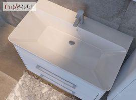 Тумба для ванной с умывальником Gn-80 Geneva Ювента