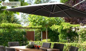 Зонт садовый Siesta Charcoal 4 Seasons Outdoor