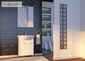 Зеркало в ванную комнату Рио ШН З1-60 левое Ювента