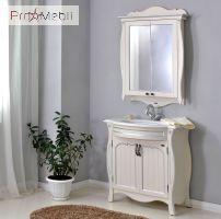 Зеркальный шкаф Ривьера ivory Ольвия