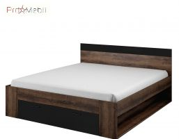 Кровать 180 92 Beta дуб монастырский Helvetia