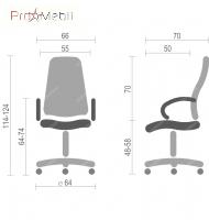 Кресло Рома CH D-TILT Аклас