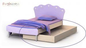 Выдвижная кровать ниша Si-13-2 Silvia Briz