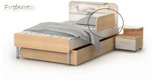 Защитная боковина к кровати М-20 Mega Briz