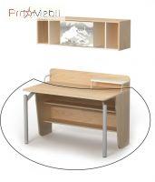 Письменный стол М-08-2 Mega Briz