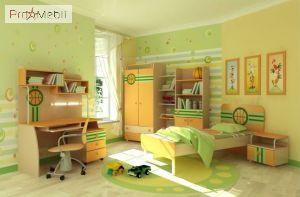 Книжный шкаф Bs-04-3 Active Briz