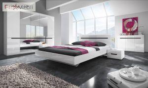Кровать Hektor белая 160 31 Helvetia