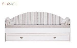 Кровать-диван LOZ80 полосатый Салерно Gerbor