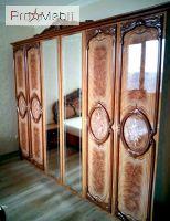 Шкаф 6Д орех Кармен Новая Світ Меблів