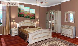 Кровать 2-сп 1,8 Николь Світ Меблів