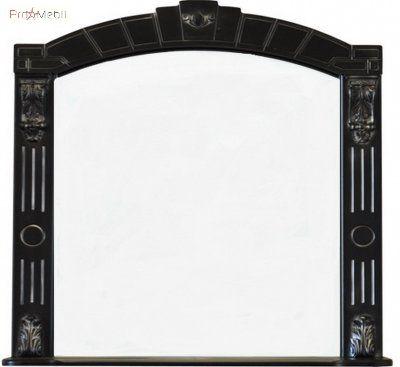 Зеркало в ванную комнату Александрия 85 черное Ольвия