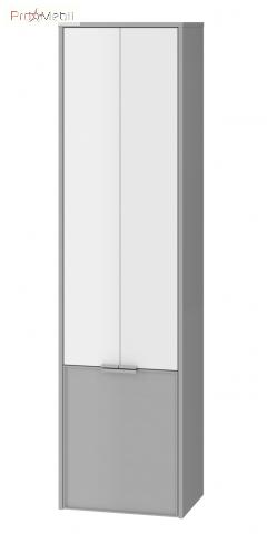 Пенал в ванную комнату SfP-170 серый Sofia Ювента