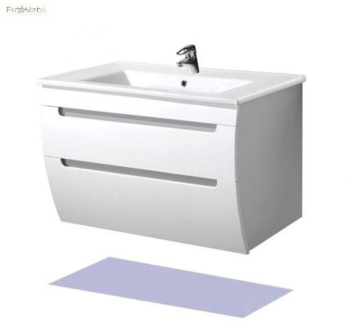 Тумба для ванной с умывальником 100-А Тренд Мойдодыр