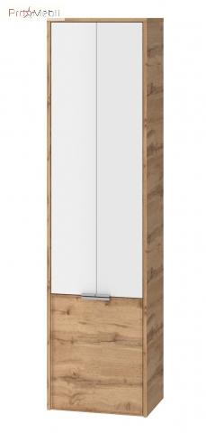 Пенал в ванную комнату SfP-170 дуб вотан Sofia Ювента