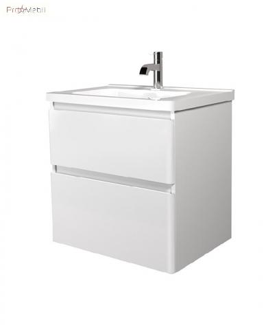 Тумба для ванной с умывальником 60-A Сорренто Мойдодыр