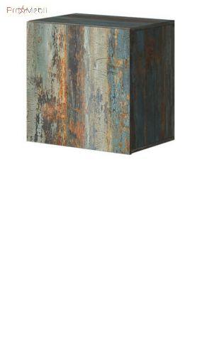Шкафчик подвесной 03 каньон крашенный металл Vento Helvetia