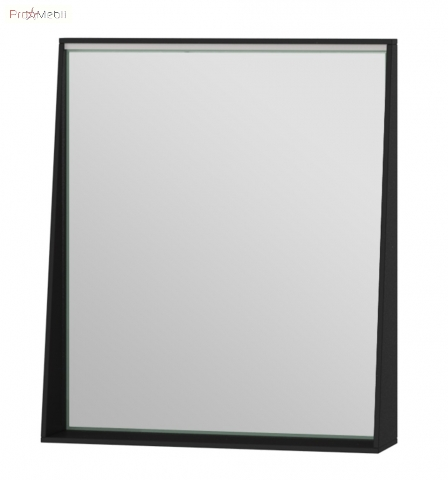Зеркало в ванную комнату MnhM-60 черное Manhattan Ювента