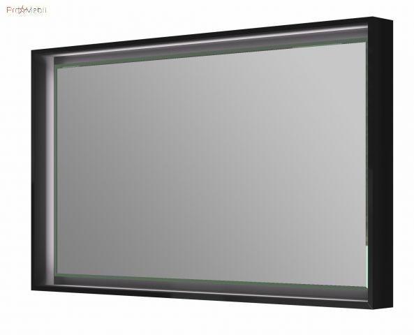 Зеркало в ванную комнату TrM-100 черное Torino Botticelli