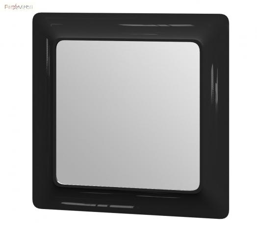 Зеркало в ванную комнату TcМ-80 черное Ticino Ювента