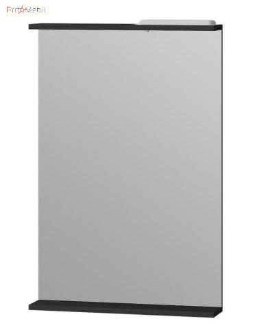 Зеркало в ванную комнату BrM-55 Brooklyn черное Ювента
