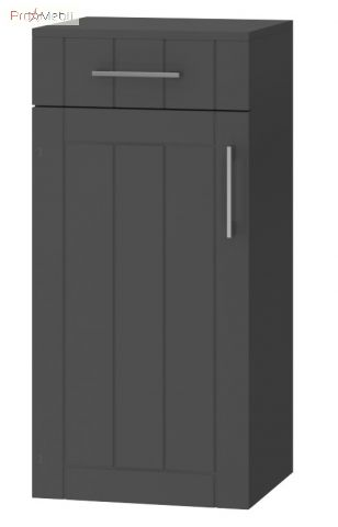 Тумба для ванной OscP-84 Oscar графит Ювента