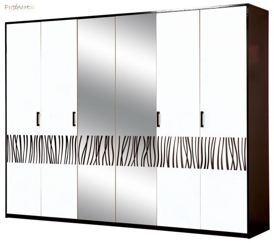 Шкаф 6Д Бася Новая Нейла Світ Меблів