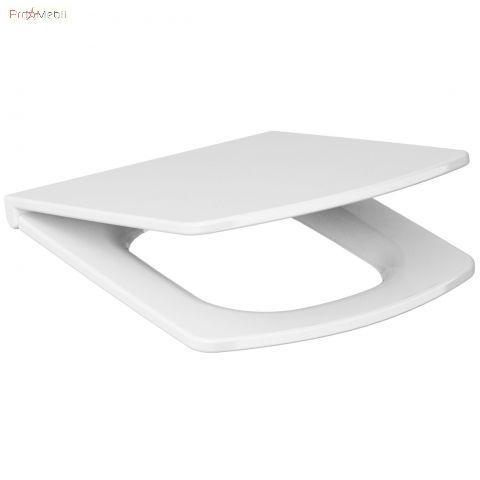 Сиденье для унитаза Easy Cersanit свободнопадающее легко съемное