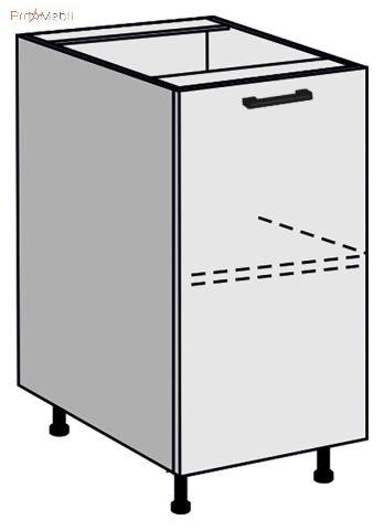 Тумба нижняя МН 45*82 для кухни Руна МДФ Roko