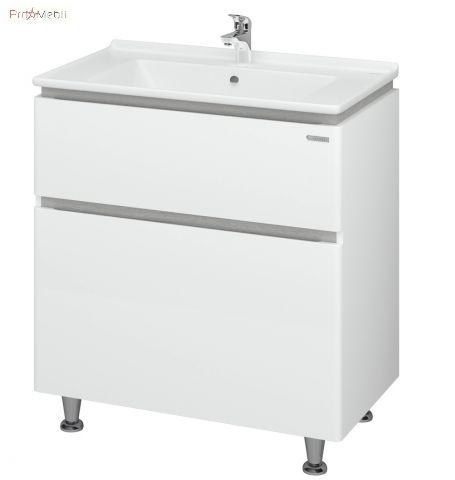 Тумба для ванной с умывальником 80 Amata Меркур Sanwerk
