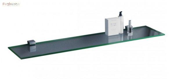 Полка стеклянная сверхпрозрачная 900*120*6 Sanwerk