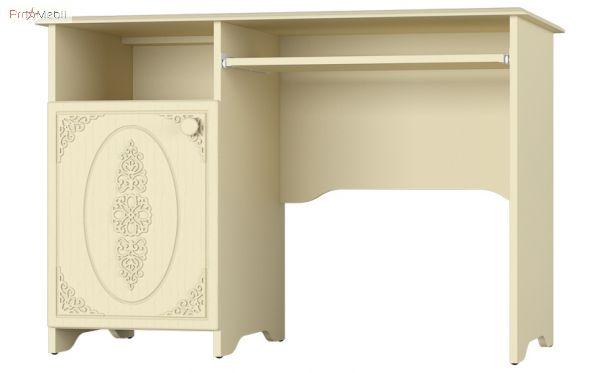 Стол письменный АС-243 левый Ассоль Premium Санти