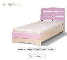 Кровать 1-сп Терри Світ Меблів